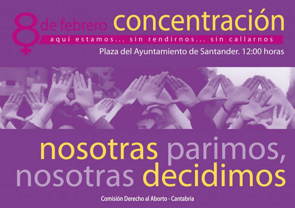 cartel concentracion